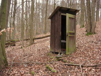 森林の小屋